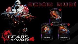 Gears of War 4 l 1ra Partida con Scion Rubí l Skins Fire Ice l ME CAGA QUE PASE ESTO ! l 1080p Hd