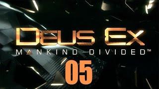 Прохождение игры Deus Ex Mankind Divided четвертой игры знаменитой серии на сложности Настоящий Deus Ex с максимумом