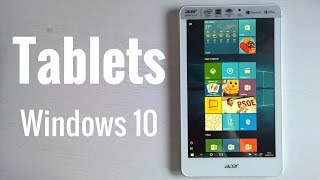 Windows 10 en tablets, análisis en español