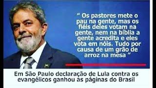 O ex-detento Lula da Silva quer criar núcleos evangélicos do PT nos Estados, diz jornal.