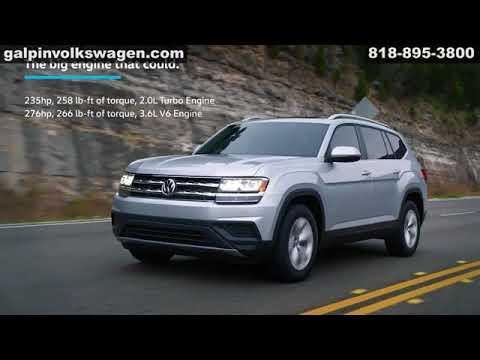 2018 Vw Volkswagen Atlas Galpin Volkswagen Los Angeles San Fernando