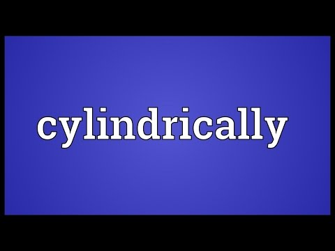 Header of cylindrically