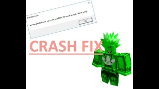 How to fix the error of the exploits crashing. *ROBLOX* *UNPATCHABLE*