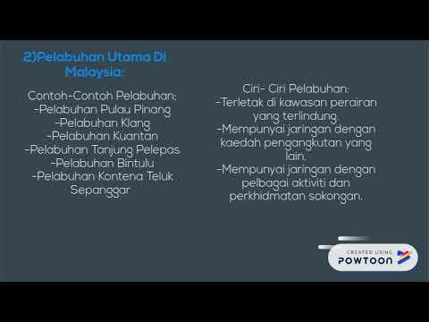Geografi Ting 2 Bab5 Pengangkutan Di Malaysia Youtube