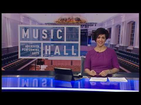 Ben Philip - STV News at Six - Aberdeen Music Hall