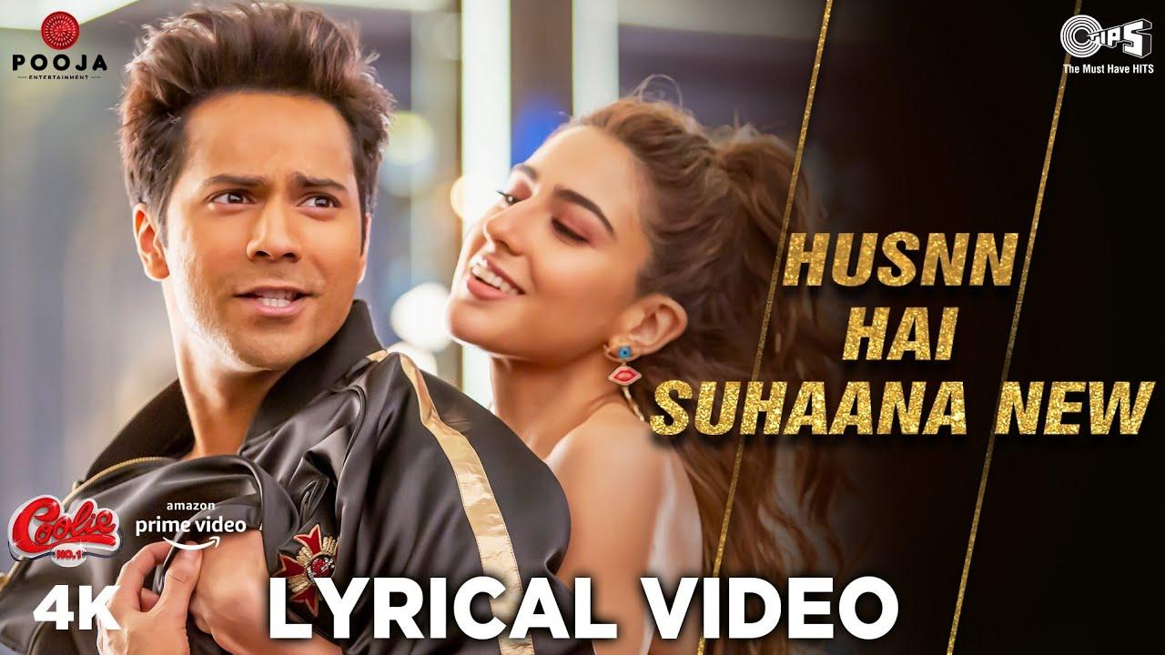 Download Husnn Hai Suhaana New Lyrical   Varun Dhawan   Sara Ali Khan   Chandana D, Abhijeet B   Coolie No.1