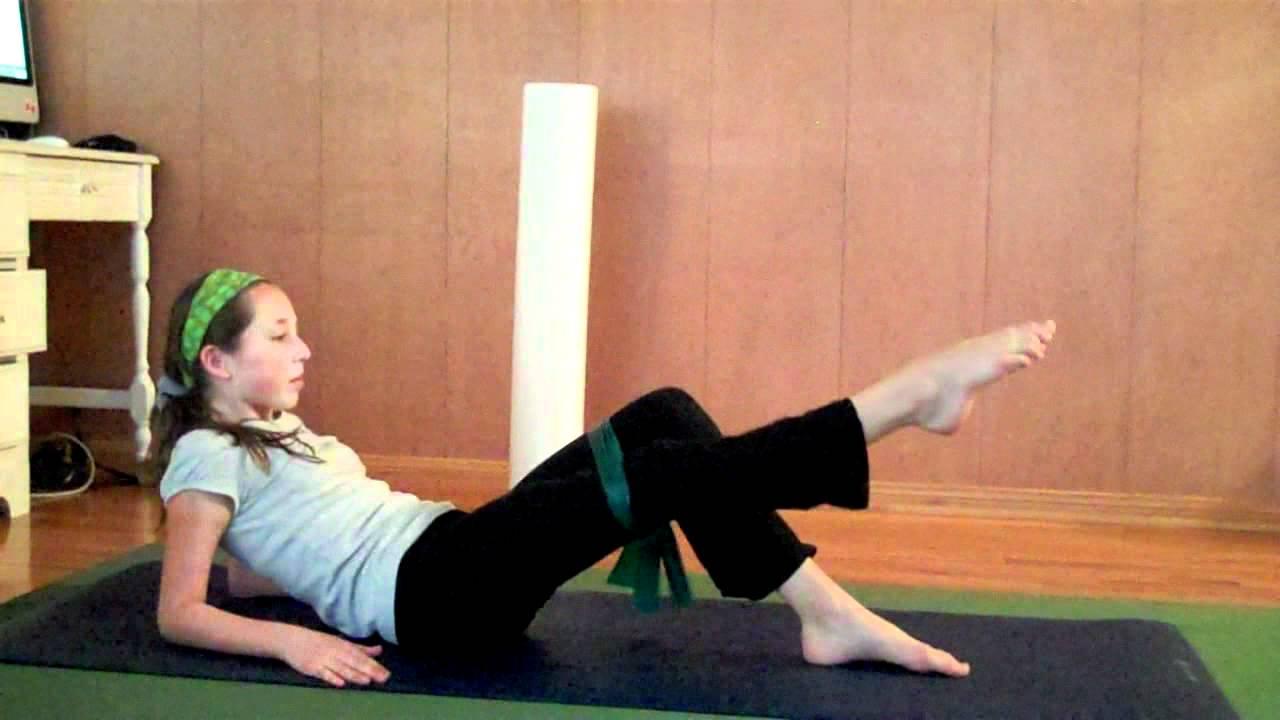 Ballet : improve develope - iliopsoas exercise - YouTube