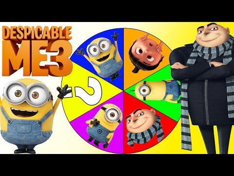 Thumbnail: Minions Despicable Me 3 Game with Disney Moana, Gru, Paw Patrol Surprise