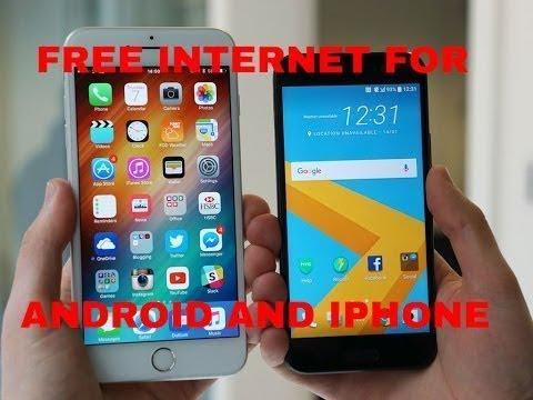 How To Get Unlimited Cell Data For Free (Any Carrier Or Phone) #Test