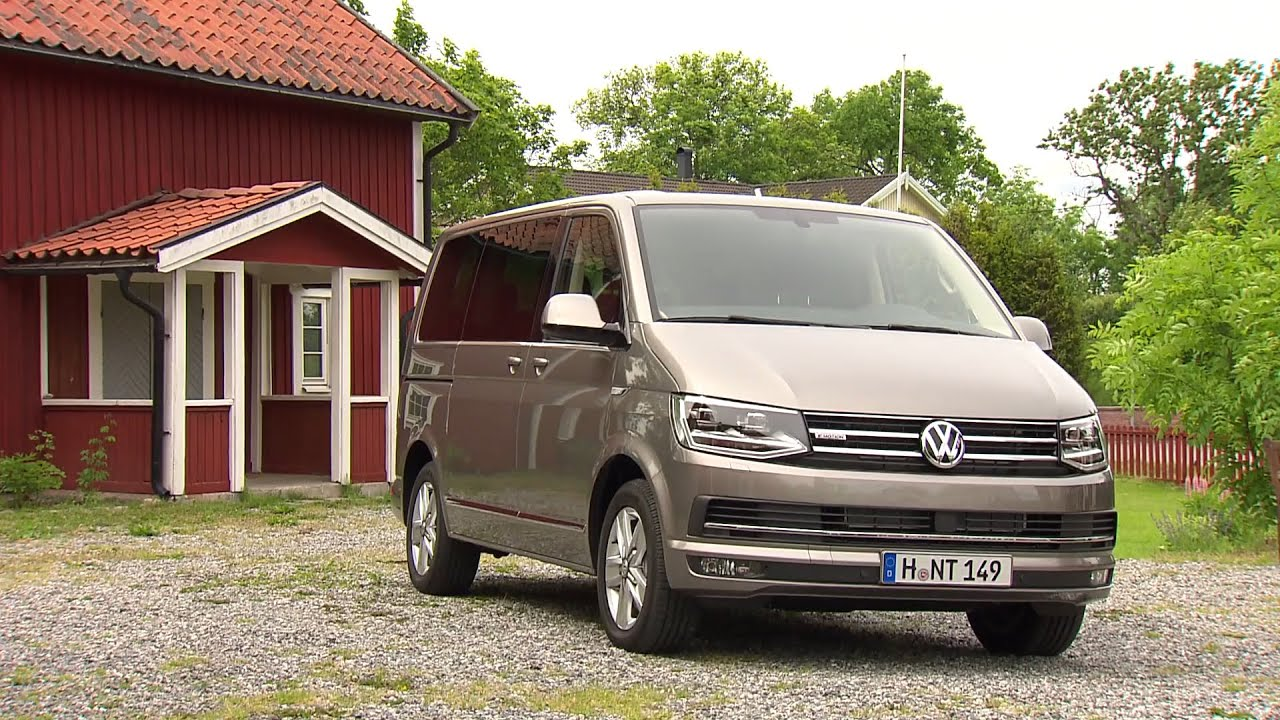 volkswagen t6 multivan highline 4motion youtube. Black Bedroom Furniture Sets. Home Design Ideas