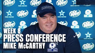 Mccarthy addressed the release of dt dontari poe and cb daryl worley how it will impact playing time for some younger players, plus updated a ...