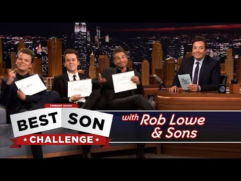 Thumbnail: Best Son Challenge with Rob Lowe and His Sons