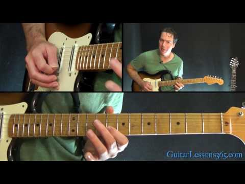 Santana - Europa Guitar Lesson (Part 1)