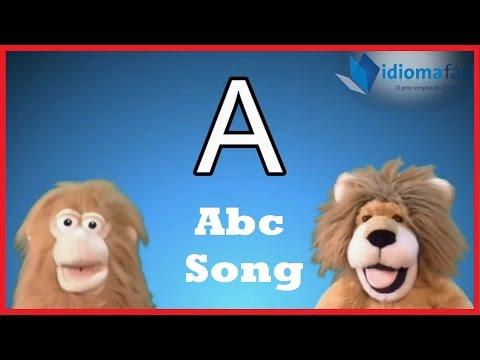 Abc Song Alphabet Song Música Do Alfabeto Em Inglês Youtube