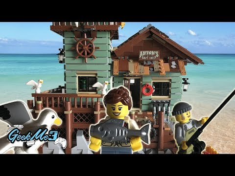 LEGO IDEAS 21310 - Old Fishing Store Review