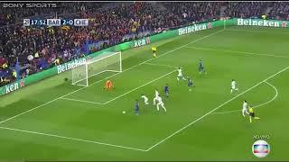 Barca-chelsea : 3-0 but de Messi son 100 ème en LDC