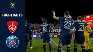 STADE BRESTOIS 29 PARIS SAINT GERMAIN 2 4 Highlights SB29 PSG 2021 2022