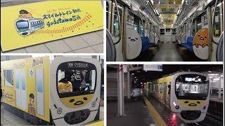 西武30000系 ぐでたまラッピング電車 運行初日(増結2両10両編成)