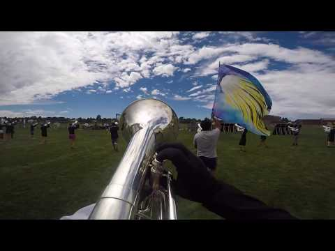 Columbians Drum and Bugle Corps 2017 Baritone Cam