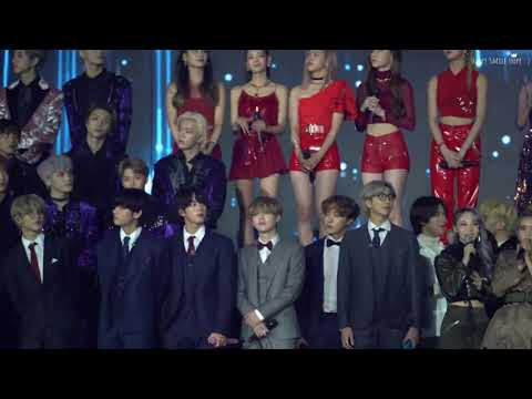 BTS Ending @KBS Song Festival Gayo Daechukje 2019 Fancam