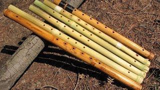 Игра на флейте бансури Видеоурок 2