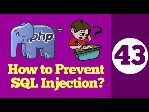 43-How To Prevent SQL Injection With PHP In Hindi