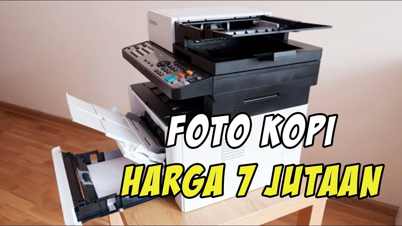 Mengoperasikan Kyocera ECOSYS M2040dn printer multi fungsi