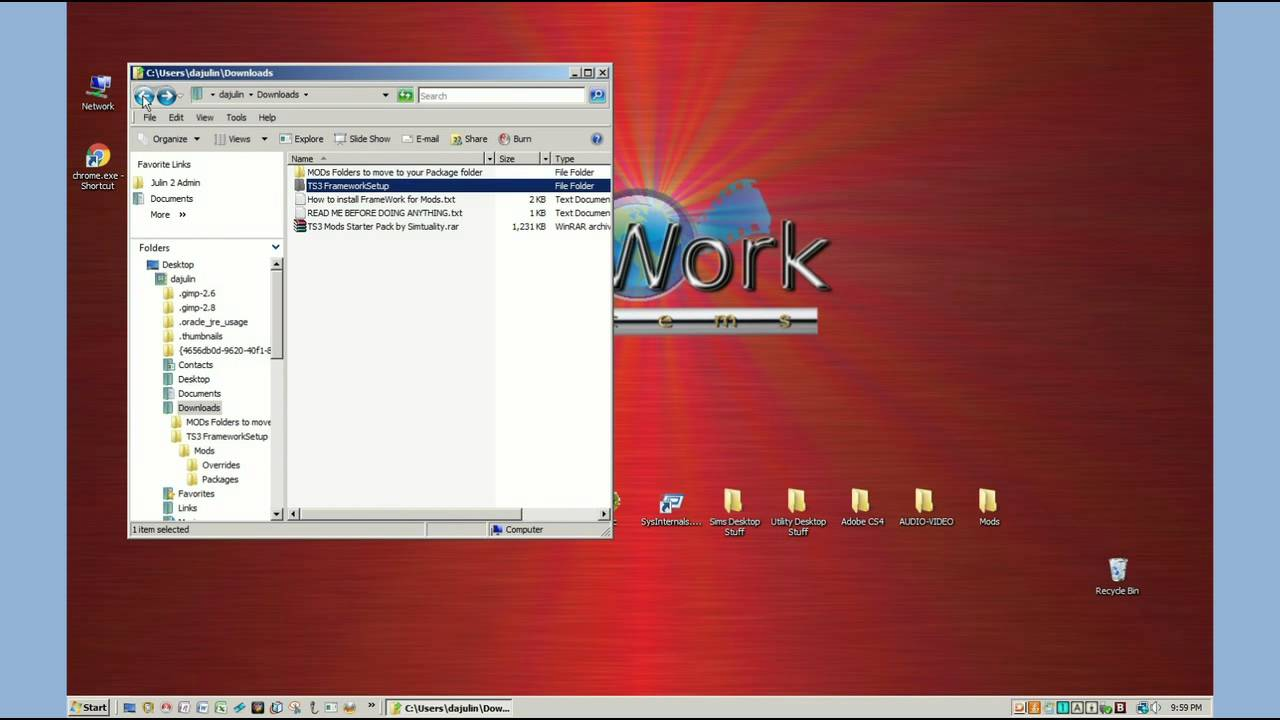 How To Install Mods folders and Package files into your Sims 3 Game