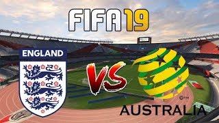 FIFA 19 II England Vs Australia ,World Women Friendly Match II PS4 Game