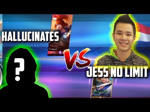 JESS NO LIMIT VS HALLUCINATES, NEXT TOP 1 GLOBAL FANNY? FANNY VS FANNY