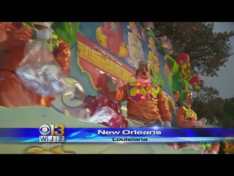 Mardi Gras Parade Honors New Orleans' Tricentennial
