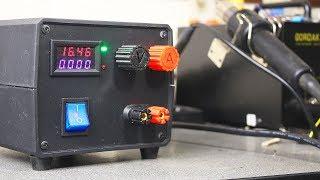 Как сделать Мощный Лабораторный Блок Питания своими руками
