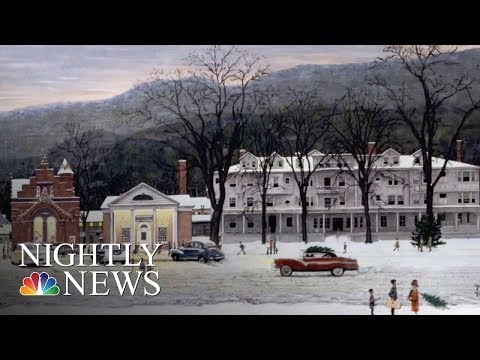 Massachusetts Town Turns Back The Clock In Ode To Norman Rockwell | NBC Nightly News