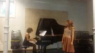 Rachmaninov Opus 14 Romance Spring waters By Libra Duo
