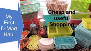 Dmart/D-Mart Shopping Haul ! SPAR | Big Bazaar | Amazing Prize | Cheap Shopping Haul