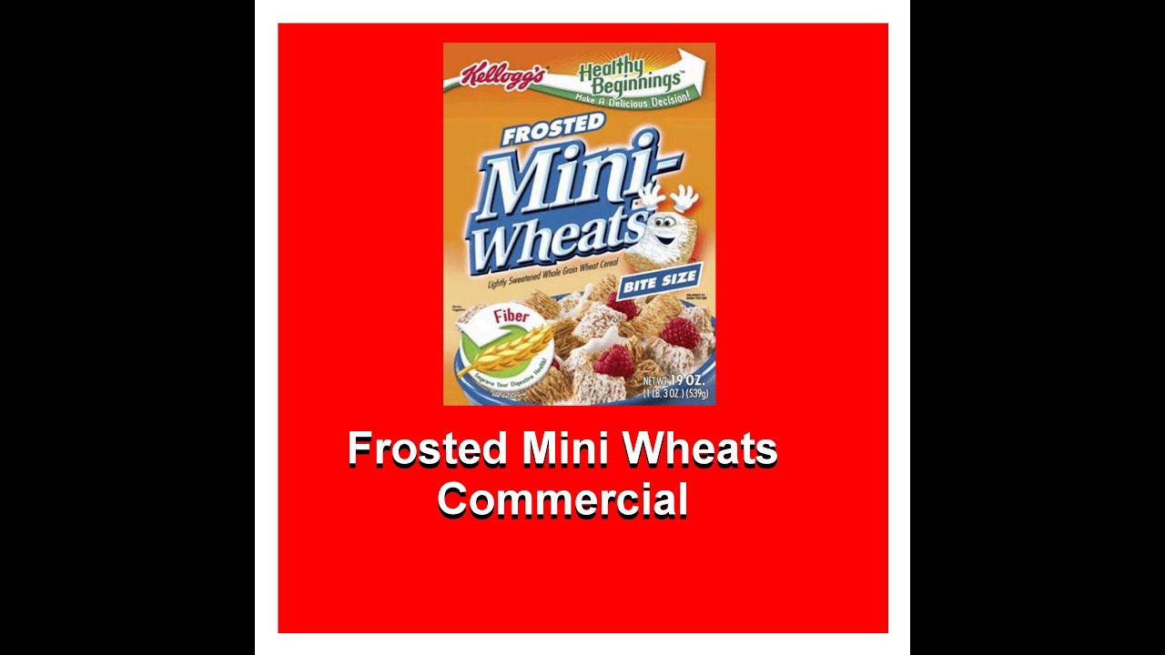 Frosted Mini Wheats Cereal Commercial