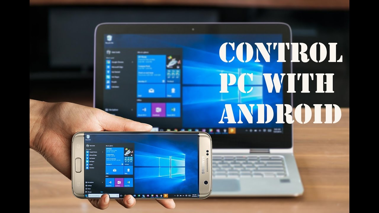 How to Share Computer Screen To Android Phone || Windows ...