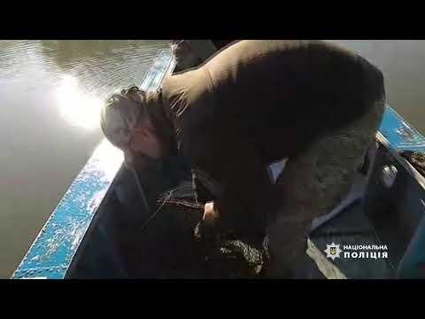 Поліція Одещини: Правоохоронці протидіють браконьєрству на водоймах Одещини