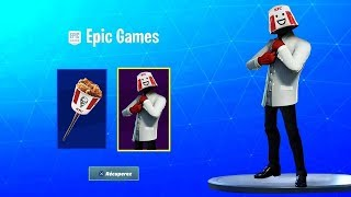 Receive the SKIN KFC FOR FREE on Fortnite!!