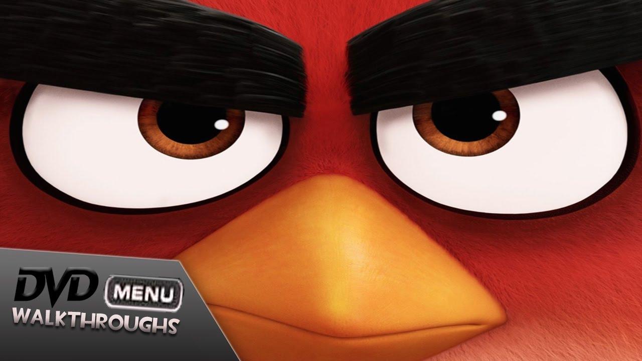 The Angry Birds Movie 2016 Dvd Menu Walkthrough Youtube