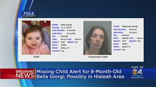 FDLE Issue Missing Child Alert For 8-Month-Old Bella Giorgi