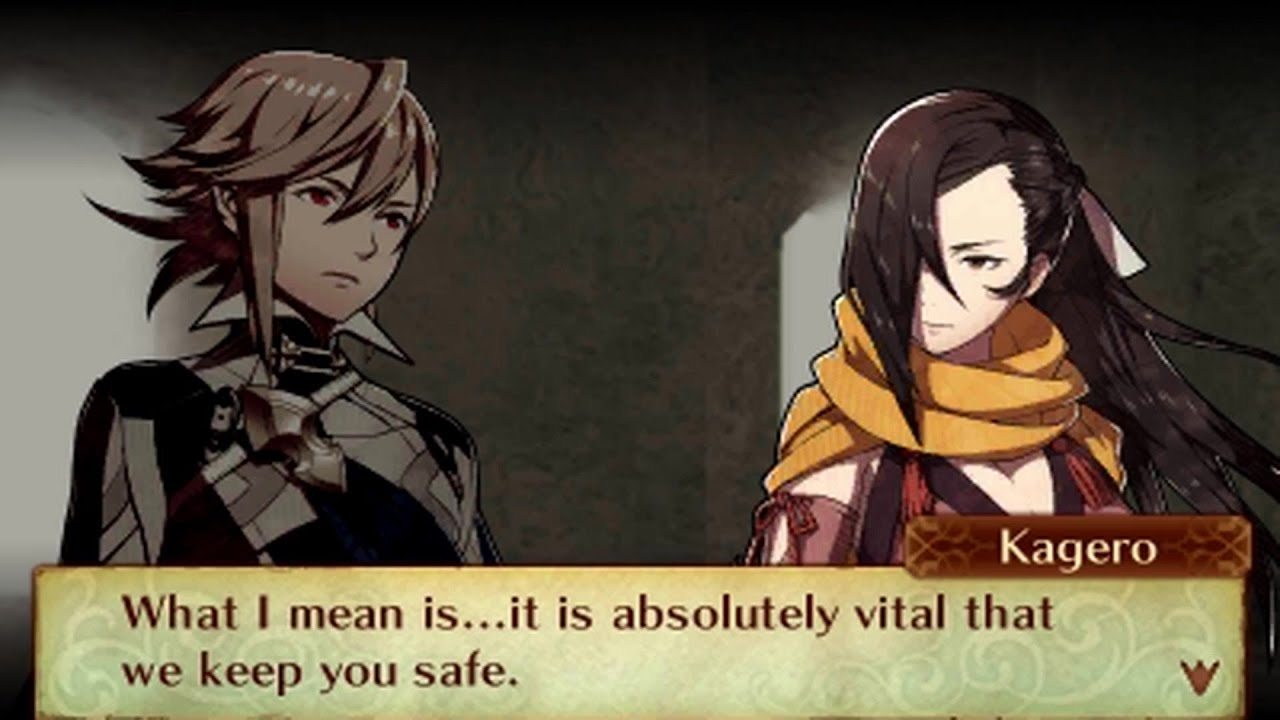 Fire Emblem Fates Birthright Male Avatar My Unit Kagero Support Conversations Youtube Kagero is an ally unit in fire emblem fates on the birthright and revelation routes. fire emblem fates birthright male avatar my unit kagero support conversations