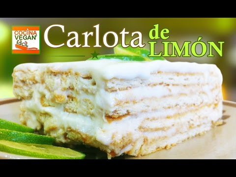 Carlota de limón - Cocina Vegan Fácil