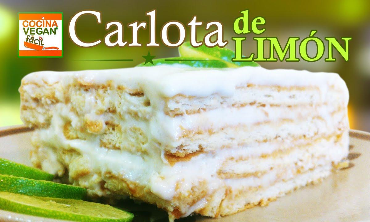 Carlota de lim n cocina vegan f cil youtube for Blogs de cocina facil