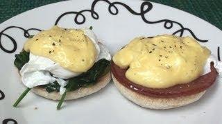 Eggs Benedict / Eggs Florentine Recipe