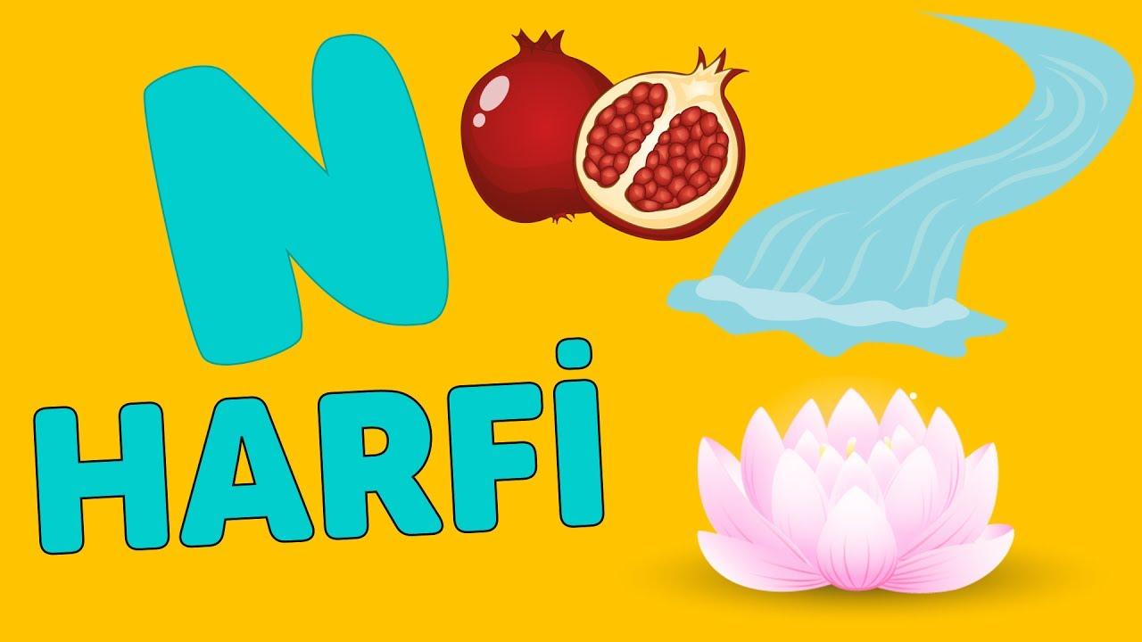 N Harfi - ABC Alfabe Şarkısı   Akıllı Bıdık
