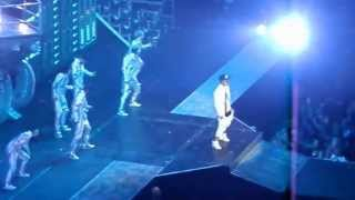 Justin Bieber Believe Tour Opening+Take You+Catching Feelings Omaha Nebraska 7/6/13
