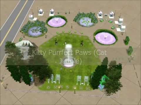 The Sims 3: Kitty Purrfect Paws (Cat Jungle)