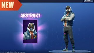 ABSKTRAKT | TAG BAG | RENEGADE ROLLER AXE | NEW Fortnite Skins
