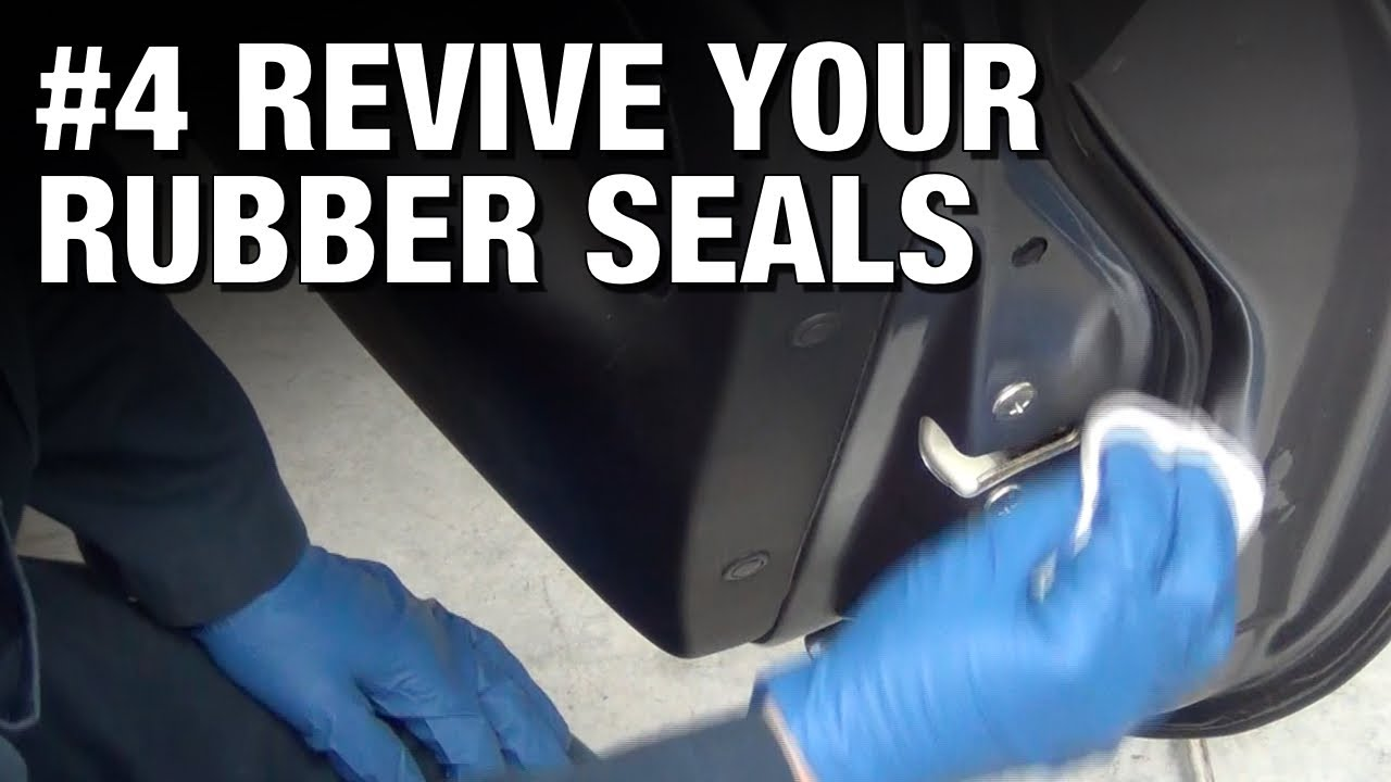 Garage Door Rubber Seal >> Turbo Garage Tips #4: Restore Your Rubber Seals! - YouTube